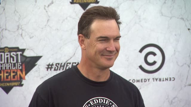 patrick warburton at the comedy central roast of charlie sheen at los angeles ca. - patrick warburton stock videos & royalty-free footage