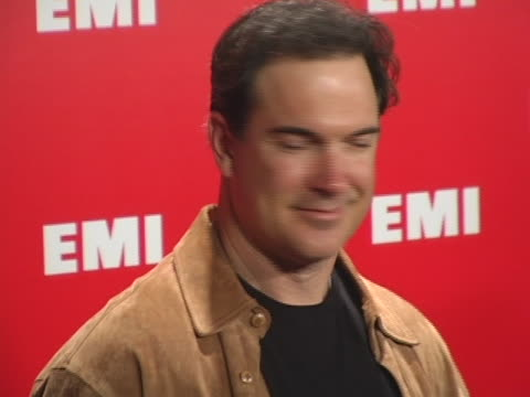 patrick warburton at the emi post grammy bash at beverly hills hotel in beverly hills, california. - patrick warburton stock videos & royalty-free footage