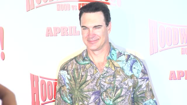 patrick warburton at the 'hoodwinked too! hood vs. evil' premiere at los angeles ca. - patrick warburton stock videos & royalty-free footage