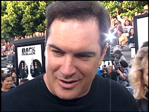 patrick warburton at the 'men in black ii' premiere at the bruin theatre in westwood, california on june 26, 2002. - patrick warburton stock videos & royalty-free footage