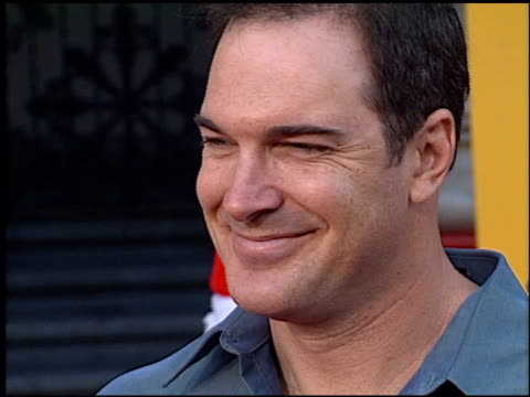patrick warburton at the premiere of 'the emperor's new groove' at the el capitan theatre in hollywood, california on december 10, 2000. - patrick warburton stock videos & royalty-free footage