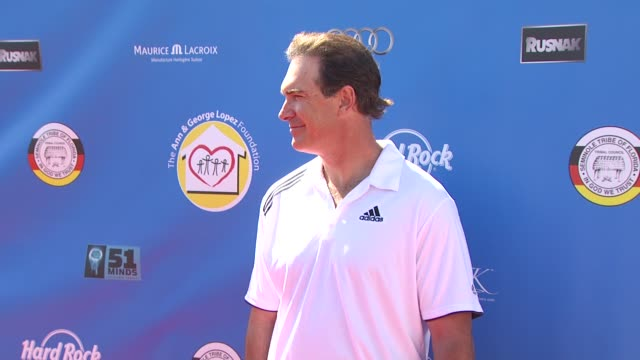 patrick warburton at the third annual george lopez celebrity golf classic & 2010 audi quattro cup at toluca lake ca. - patrick warburton stock videos & royalty-free footage
