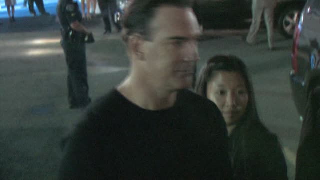 patrick warburton & cathy warburton at the cbs fall season premiere at colony in hollywood at the celebrity sightings in los angeles at los angeles... - patrick warburton stock videos & royalty-free footage