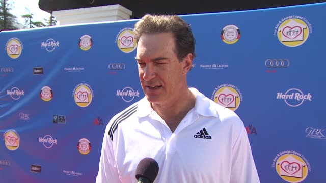 patrick warburton on the organization's mission and if he's an avid golfer. at the third annual george lopez celebrity golf classic & 2010 audi... - patrick warburton stock videos & royalty-free footage