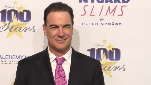 patrick warburton & talon warburton at norby walters' 26th annual night of 100 stars oscar viewing at the beverly hilton hotel in beverly hills in... - patrick warburton stock videos & royalty-free footage