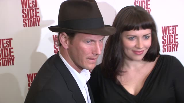 Patrick Wilson and Dagmara Dominczyk at the 'West Side Story' Broadway Opening Night at New York NY