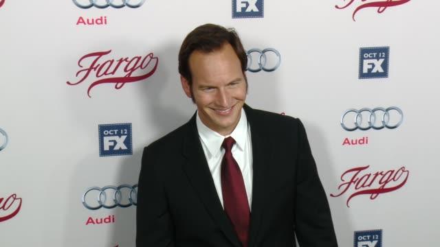 patrick wilson at fx's fargo los angeles premiere at arclight cinemas on october 07 2015 in hollywood california - arclight cinemas hollywood stock-videos und b-roll-filmmaterial