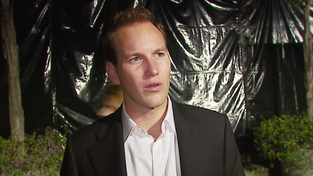 vídeos y material grabado en eventos de stock de patrick wilson on the event the first broadway show he attended his starlight express number his definition of romance at the 'a fine romance' event... - península de gower