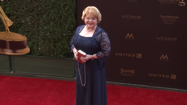 Patrika Darbo at the 43rd Annual Daytime Creative Arts Emmy Awards at Westin Bonaventure Hotel on April 29 2016 in Los Angeles California
