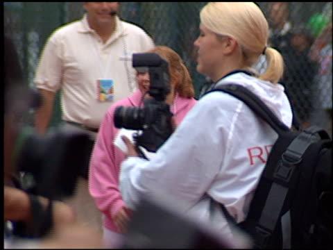 patrika darbo at the revlon run/walk for women at coliseum in los angeles, california on may 12, 2001. - revlon stock videos & royalty-free footage