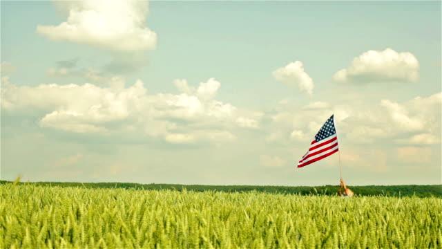 patriotische amerikanische - patriotismus stock-videos und b-roll-filmmaterial