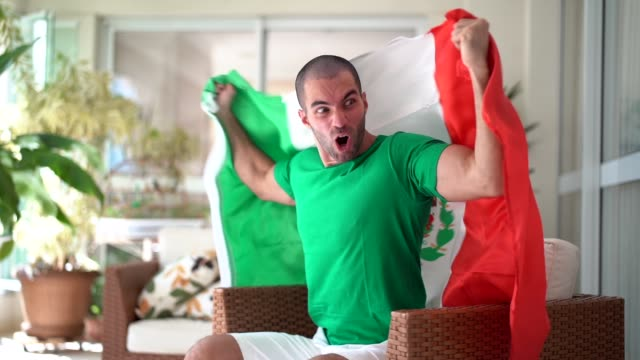 patriotism and celebration of a mexican young fan - fan enthusiast stock videos & royalty-free footage