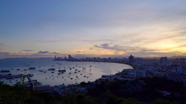 Pattaya City View Point Time Lapse