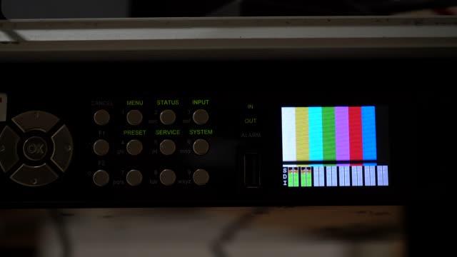 pattern measurement - oscilloscope stock videos & royalty-free footage
