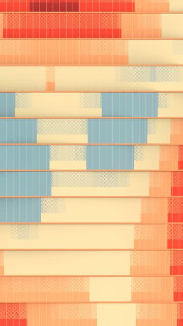 muster von farbigen streifen wellig-wie bewegt sich entlang der vertikalen linien. digitale nahtlose loop-animation. 3d-rendering. hd-auflösung - hoch allgemeine beschaffenheit stock-videos und b-roll-filmmaterial
