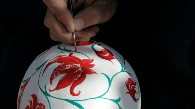 patterning on the calabash