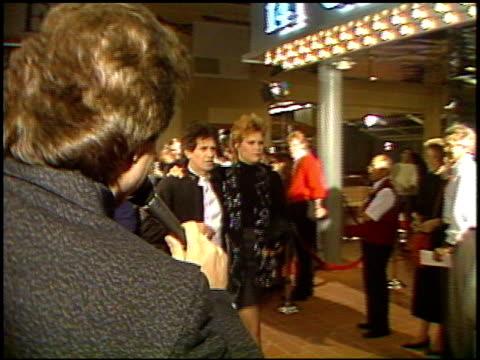 patti hanson at the 'hail, hail, rock and roll' premiere on january 1, 1988. - センターシティ点の映像素材/bロール