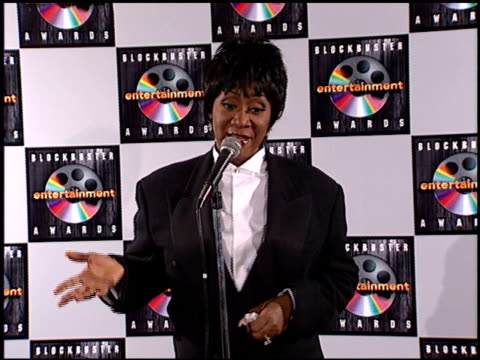 patti labelle at the blockbuster entertainment awards at pantages theater in hollywood, california on june 3, 1995. - pantages theater stock videos & royalty-free footage