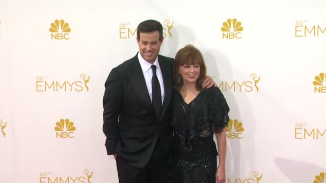 Pattie Daly Caruso Carson Daly at 66th Primetime Emmy Awards Arrivals in Los Angeles CA