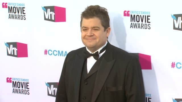 Patton Oswalt at 17th Annual Critics' Choice Movie Awards on 1/12/12 in Hollywood CA