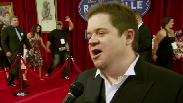patton oswalt on being wanting to work with pixar that he would take any role on being a foodie working with brad bird in the studio showing up to... - foodie stock videos and b-roll footage
