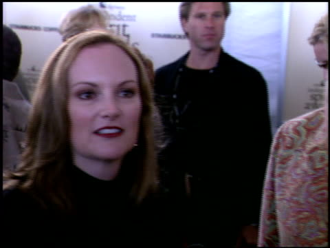 Patty Hearst at the Independent Spirit Awards on March 23 2002