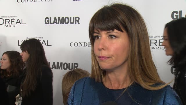 INTERVIEW Patty Jenkins on being recognized for Wonder Woman at Glamour's 2017 Women Of The Year on November 13 2017 in New York City