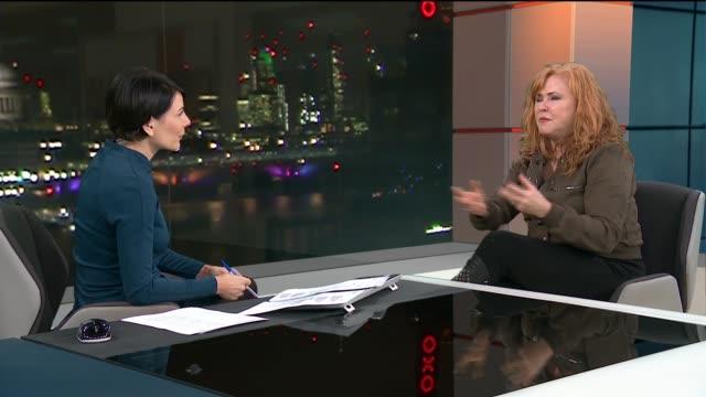 carol decker interview; england: london: gir: int carol decker live studio interview sot - carol singer stock videos & royalty-free footage