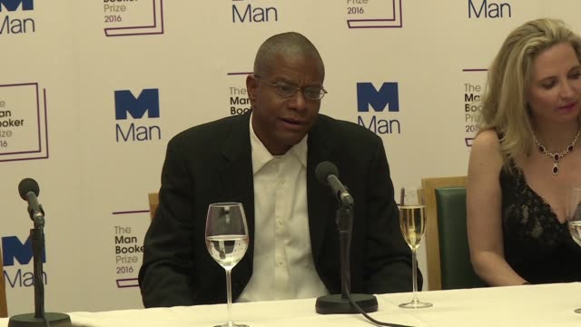 paul beatty becomes the first us author to win the man booker prize the world's most prestigious english language literary award for his novel the... - man booker prize stock videos & royalty-free footage