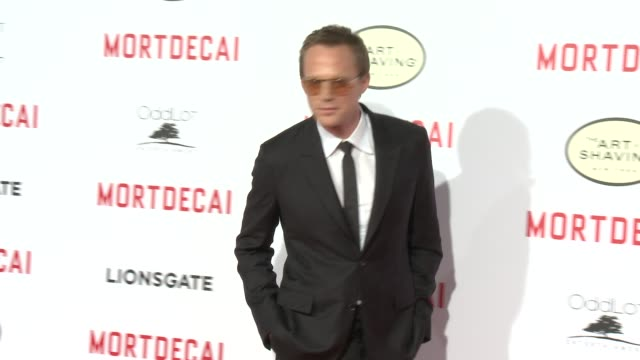 Paul Bettany at the Mortdecai Los Angeles Premiere at TCL Chinese Theatre on January 21 2015 in Hollywood California