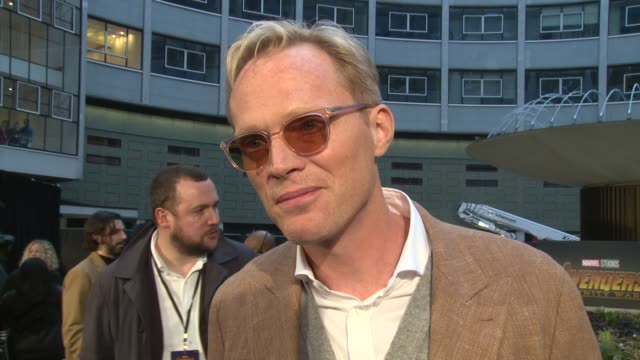 paul bettany the avengers franchise, fellow cast members, fake endings and financial rewards of being an actor at television studios white city on... - cast member stock videos & royalty-free footage