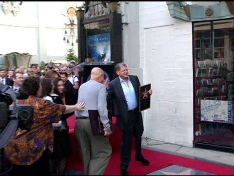 paul block and robert zemeckis at the dedication of robert zemeckis' star on the hollywood walk of fame at hollywood boulevard in hollywood... - robert zemeckis stock videos and b-roll footage