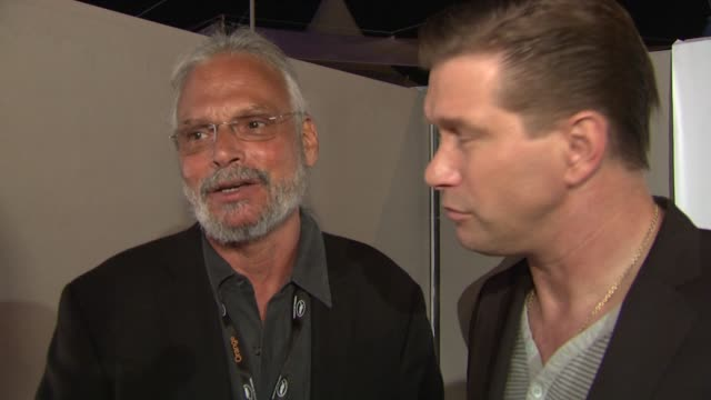 paul cohen and stephen baldwin on what they are looking forward to at the festival at the doha film institute launch: cannes film festival 2010 at... - stephen baldwin stock-videos und b-roll-filmmaterial