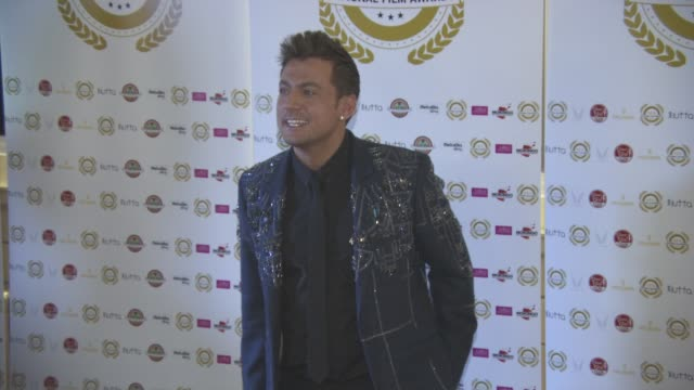paul danan at national film awards at porchester hall on march 30, 2016 in london, england. - ポーチェスター点の映像素材/bロール