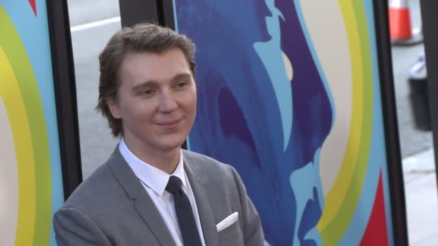 paul dano at the love mercy los angeles premiere at ampas samuel goldwyn theater on june 02 2015 in beverly hills california - samuel goldwyn theater stock videos & royalty-free footage