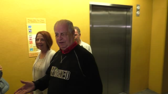 paul dooley on why he doesn't like tmz at arclight cinemas in hollywood at celebrity sightings in los angeles on november 07 2015 in los angeles... - arclight cinemas hollywood stock-videos und b-roll-filmmaterial