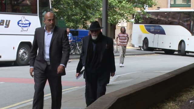 paul gadd at celebrity sightings on 25th june 2014 in london england - gary glitter stock videos & royalty-free footage