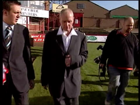 Paul Gascoigne sacked as Kettering manager ITN Kettering FC EXT Gascoigne along on football pitch for photocall after being appointed Kettering FC...