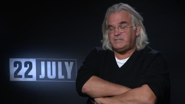 stockvideo's en b-roll-footage met interview paul greengrass on the complexity of telling the story of anders behring breivik the dilemma's in telling this how he approached telling... - anders behring breivik