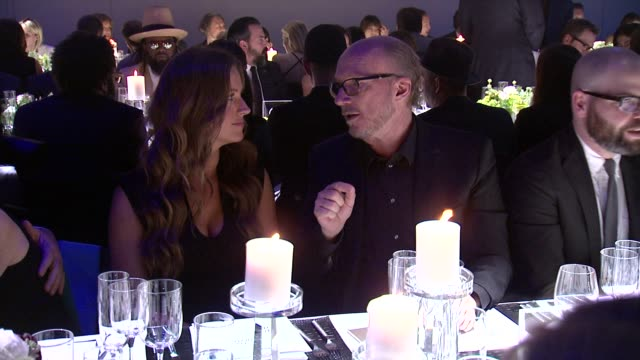 paul haggis and guest at iwc schaffhausen third annual for the love of cinema dinner during tribeca film festival on april 16 2015 in new york city - paul haggis stock videos and b-roll footage
