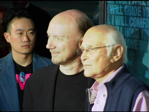 paul haggis and norman lear at the 'crash' los angeles premiere on april 26 2005 - paul haggis stock videos and b-roll footage