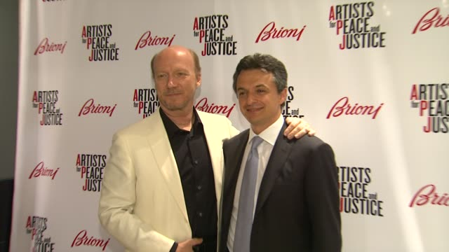 paul haggis angelo petrucci at brioni rodeo drive boutique opening on 5/10/12 in los angeles ca - paul haggis stock videos and b-roll footage