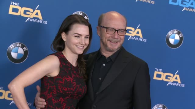 paul haggis at 68th annual directors guild of america awards at the hyatt regency century plaza on february 06 2016 in los angeles california - paul haggis stock videos and b-roll footage