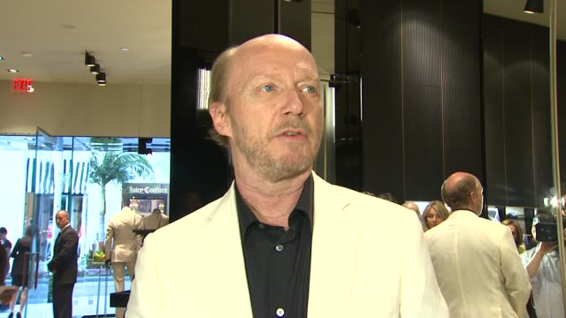 paul haggis at brioni rodeo drive boutique opening on 5/10/12 in los angeles ca - paul haggis stock videos and b-roll footage
