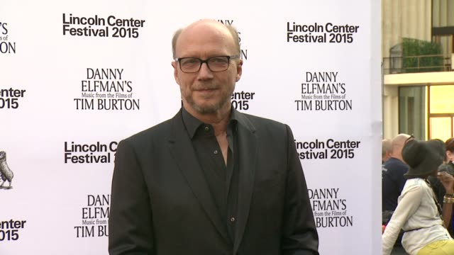 paul haggis at 'danny elfman's music from the films of tim burton' 2015 lincoln center festival opening night at josie robertson plaza at lincoln... - paul haggis stock videos and b-roll footage