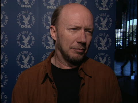 paul haggis at the dga nominee symposium directors guild of america at dga directors guild theater west hollywood - paul haggis stock videos and b-roll footage