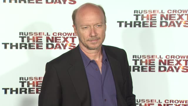 paul haggis at the 'the next three days' special screening at los angeles ca - paul haggis stock videos and b-roll footage