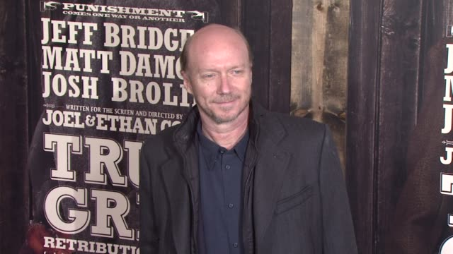paul haggis at the 'true grit' new york premiere at new york ny - paul haggis stock videos and b-roll footage