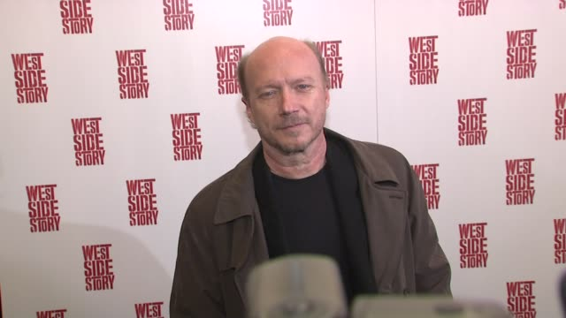 paul haggis at the 'west side story' broadway opening night at new york ny - paul haggis stock videos and b-roll footage