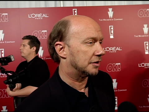 paul haggis on his films success putting the cast together the films themes and on racism at the 2006 weinstein company preoscar party at the pacific... - paul haggis stock videos and b-roll footage